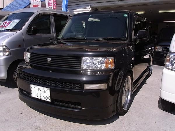 ご注文車両 納車 トヨタbB 黒 大阪 OSCAR'S