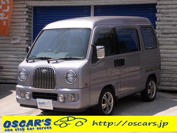 売却済【316】H.14(2002)年 スバル ディアスワゴン クラシック フォグ ヘッドランプバイザー 4WD ETC ラベンダー(ライトパープル) 走行110,220km タイミングベルト無料交換渡し!