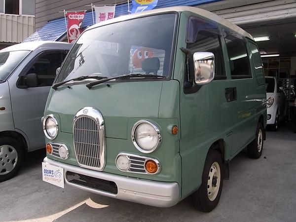 売約済【215】H.7(1995)年 スバル サンバーディアス クラシック グリーンⅡ 走行52,284km