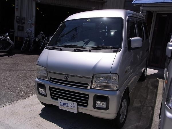 売却済【103】H.16(2004)年 スズキ エブリイワゴン シルバー 走行69,069km