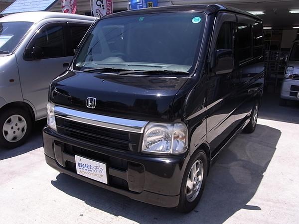 売却済【220】H.17(2005)年 ホンダ バモス ターボ ブラック 走行100,930km 大阪 中古車