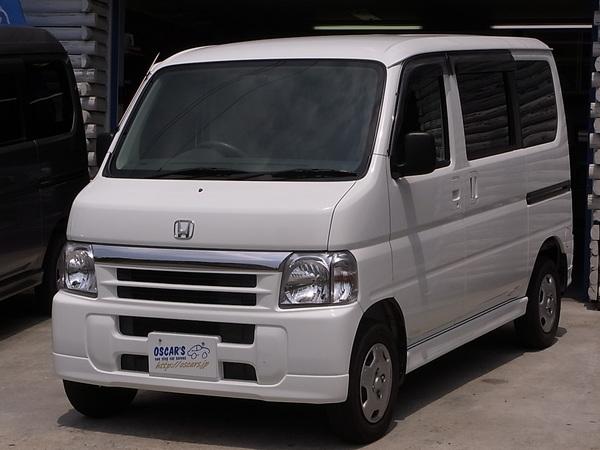 売却済【278】H.16(2004)年 ホンダ バモス M ホワイト 走行38,350kmのサムネイル
