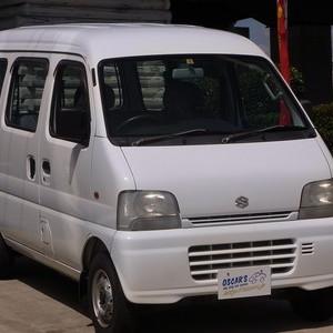 売却済【318】H.15(2003)年 スズキ エブリイ PA ホワイト 走行69,881kmのサムネイル