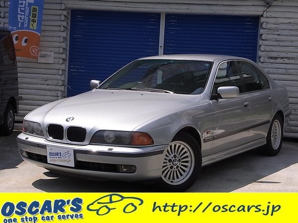 売約済【219】H.10(1998)年 BMW 528i シルバー 走行86,334km